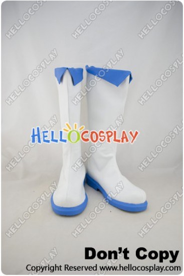 Vocaloid 2 Cosplay Shoes Megpoid Gumi White Boots