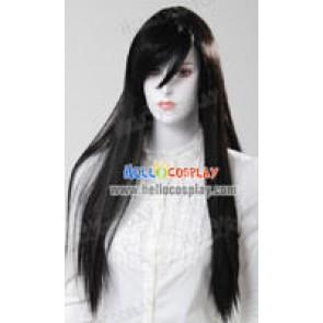 Cosplay Black Medium Wig
