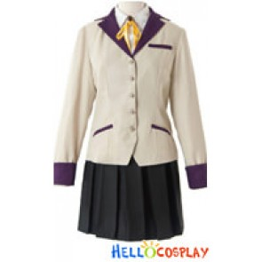 Angel Beats Cosplay Angel School Girl Uniform Costume