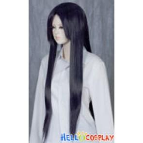 Darkest Purple Medium Cosplay Straight Wig