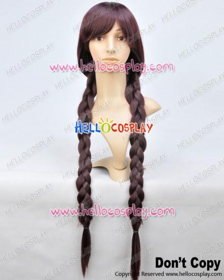 Danganronpa Dangan Ronpa Cosplay Toko Fukawa Double Long Pigtail Wig