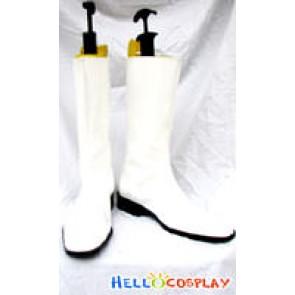 Gundam Cosplay White Boots