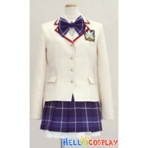 Chaos Head Cosplay Rimi Sakihata Uniform
