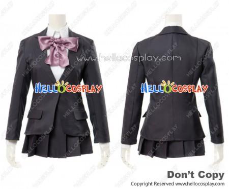 The Disappearance Of Suzumiya Haruhi EVA Cosplay Sunshine Academy Girl Uniform Costume