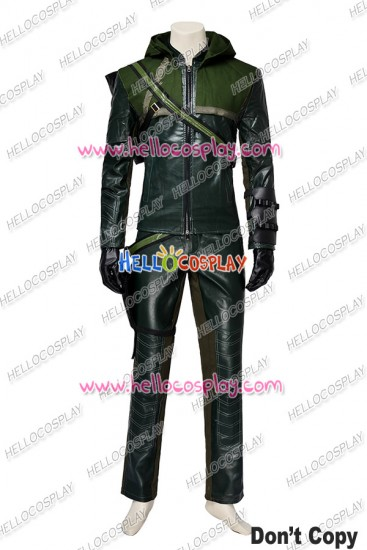 Green Arrow Season 1 Oliver Queen Cosplay Costume