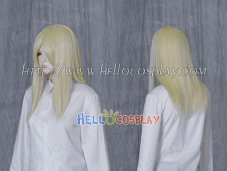 Light Goldenrod Yellow 50cm Cosplay Straight Wig