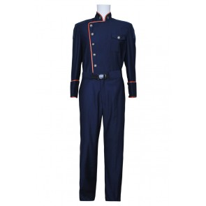 Battlestar Galactica Commander William Adama Uniform Costume