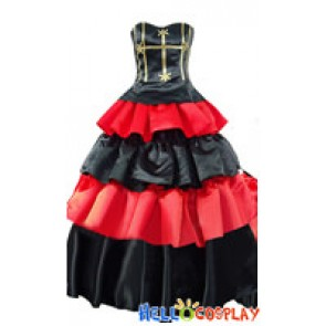 One Piece Cosplay Perona Costume Formal Dress