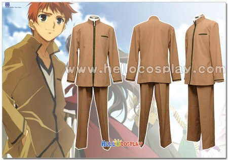 Fate/stay night Cosplay Homurabara Gakuen School Boy Uniform