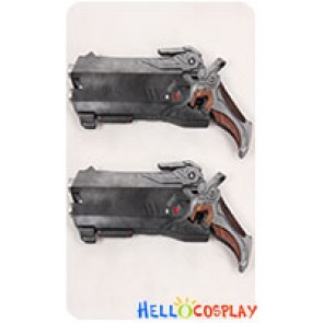 Overwatch Cosplay Reaper Twin Guns