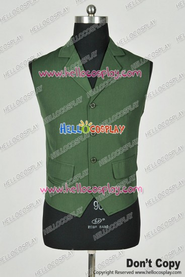 Batman The Joker Cosplay Costume Green Vest