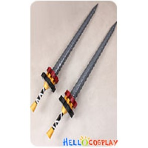 Final Fantasy Cosplay Machina Kunagiri Swords