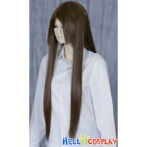 Black Brown Medium Cosplay Wig
