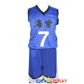 Kuroko Basketball Cosplay Kise Ryota School Basketball Uniform
