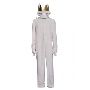 Where the Wild Things Are Wolf Max Records Costume Jumpsuit