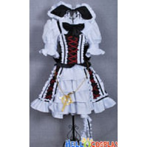 Touhou Project Cosplay Watatsuki no Yorihime Gothic Lolita Dress