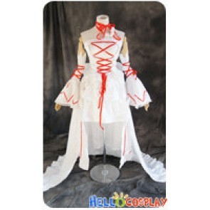 Pandora Hearts Cosplay The Intention Of The Abyss White Alice Costume