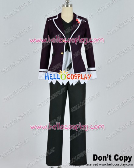 Diabolik Lovers Cosplay Subaru Sakamaki Purple Uniform Costume