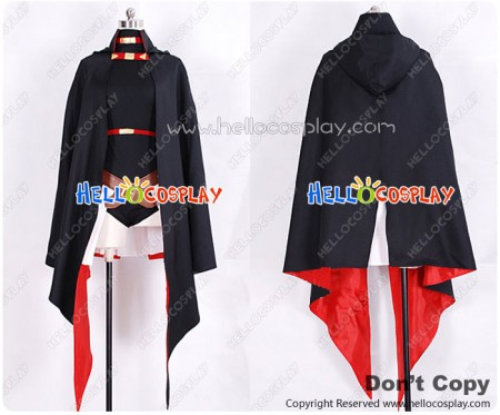 Magical Girl Lyrical Nanoha Cosplay Fate Testarossa Costume New Ver