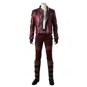 Guardians of the Galaxy Peter Quill Star-Lord Cosplay Costume
