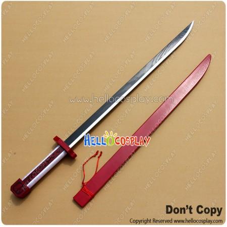 Akame Ga Kill Cosplay Akame Weapon Murasame Sword Katana Prop