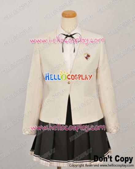 Uni Cosplay Akitsuki Honoka Girl Uniform Costume