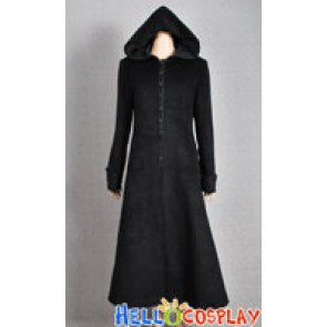 Twilight New Moon Costume Volturi Jane Black Coat Wool