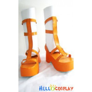 Nami Shoes From One Piece Cosplay Orange