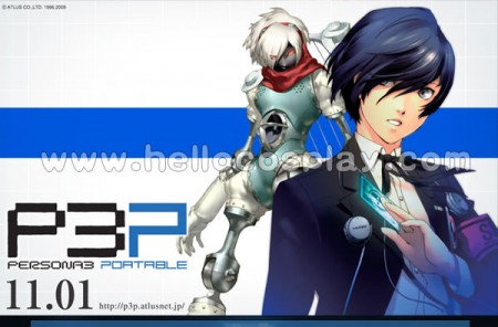 Persona 3 Cosplay Main Characters Boy School Uniform