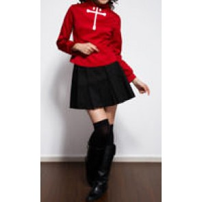 Fate Stay Night Rin Tōsaka Cosplay Costume