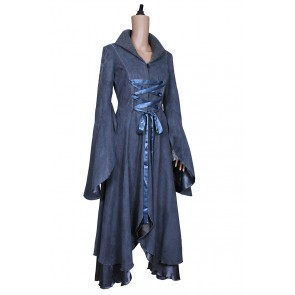 The Lord of the Rings Costume Arwen Coat Grey Dress