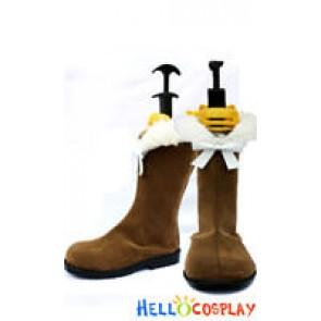 Vocaloid 2 Cosplay Meiko Brown Boots