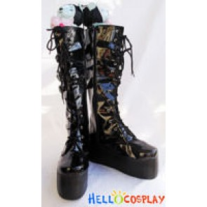 Hellocosplay Classical Black Boots BJD Style
