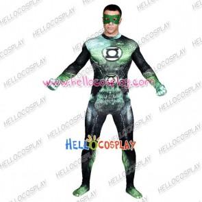 Green Lantern Hal Jordan Cosplay Costume Jumpsuit