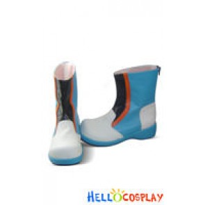 Vocaloid 2 Cosplay Shoes Kaito Short Boots