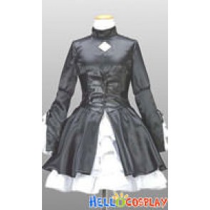 Fate/hollow ataraxia Cosplay Black Saber Dress