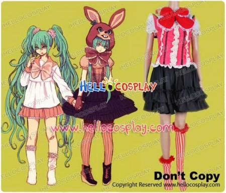 Vocaloid Hatsune Miku Lots of Laugh Cosplay Costume Dress