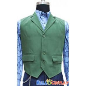Green Cotton Vest Custom-made