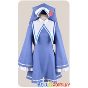Haganai Boku Wa Tomodachi Ga Sukunai Cosplay Maria Takayama Costume Blue Dress