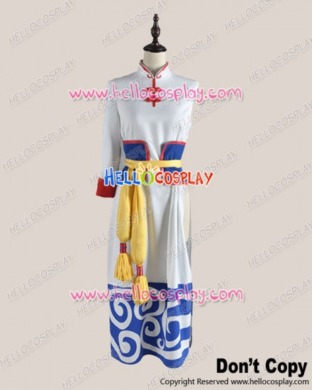 Gintama Silver Soul Cosplay Kagura Dress Costume