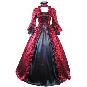 Victorian Lolita Satin Wedding Gothic Lolita Dress
