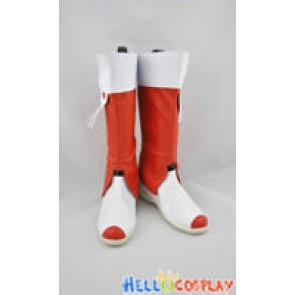 Vocaloid China Project Cosplay Yue Zhenglin White And Red Boots