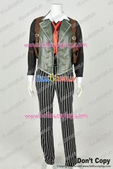 BioShock Infinite Cosplay Booker DeWitt Uniform Costume New Leather Version