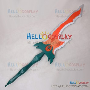 League Of Legends LOL Cosplay Riven Sword Blade Weapon Prop