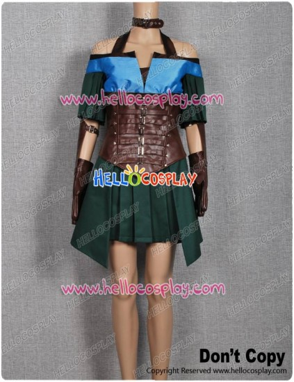 Guild Wars Cosplay Costume Dress