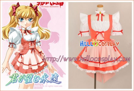 Kimi Ga Nozomu Eien Cosplay Pink Dress