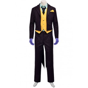 Batman Arkham City The Joker Cosplay Costume