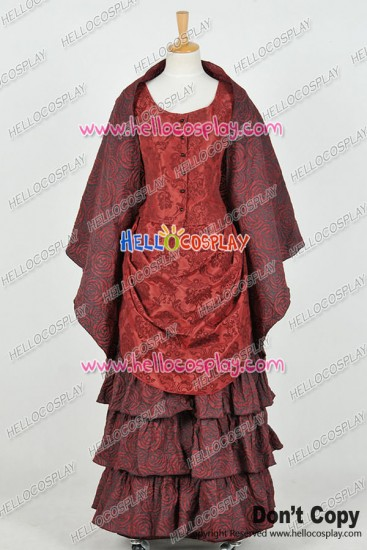 Doctor The Snowmen Clara Oswald Dress Cosplay Costume