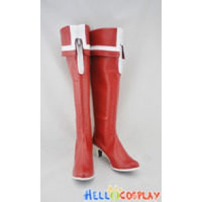 Vocaloid 2 Cosplay Rock Shorter Red Boots