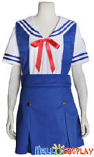 Clannad Cosplay School Girl Summer Uniform